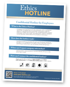 Ethics Hotline Flyer